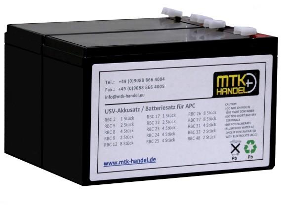 (332) APC RBC32 kompatibler Akkusatz