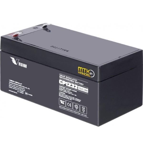 VISION CP1232/ 12V 3,2Ah VDS