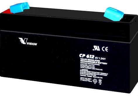 VISION CP612 / 6V 1,2Ah