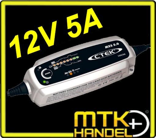 Ladegerät CTEK MXS 5.0